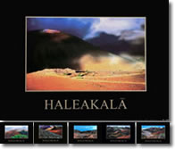 Frank Wicker Art Photography: Haleakala crater, Maui postcards, sold alongside out outdoor furniture
